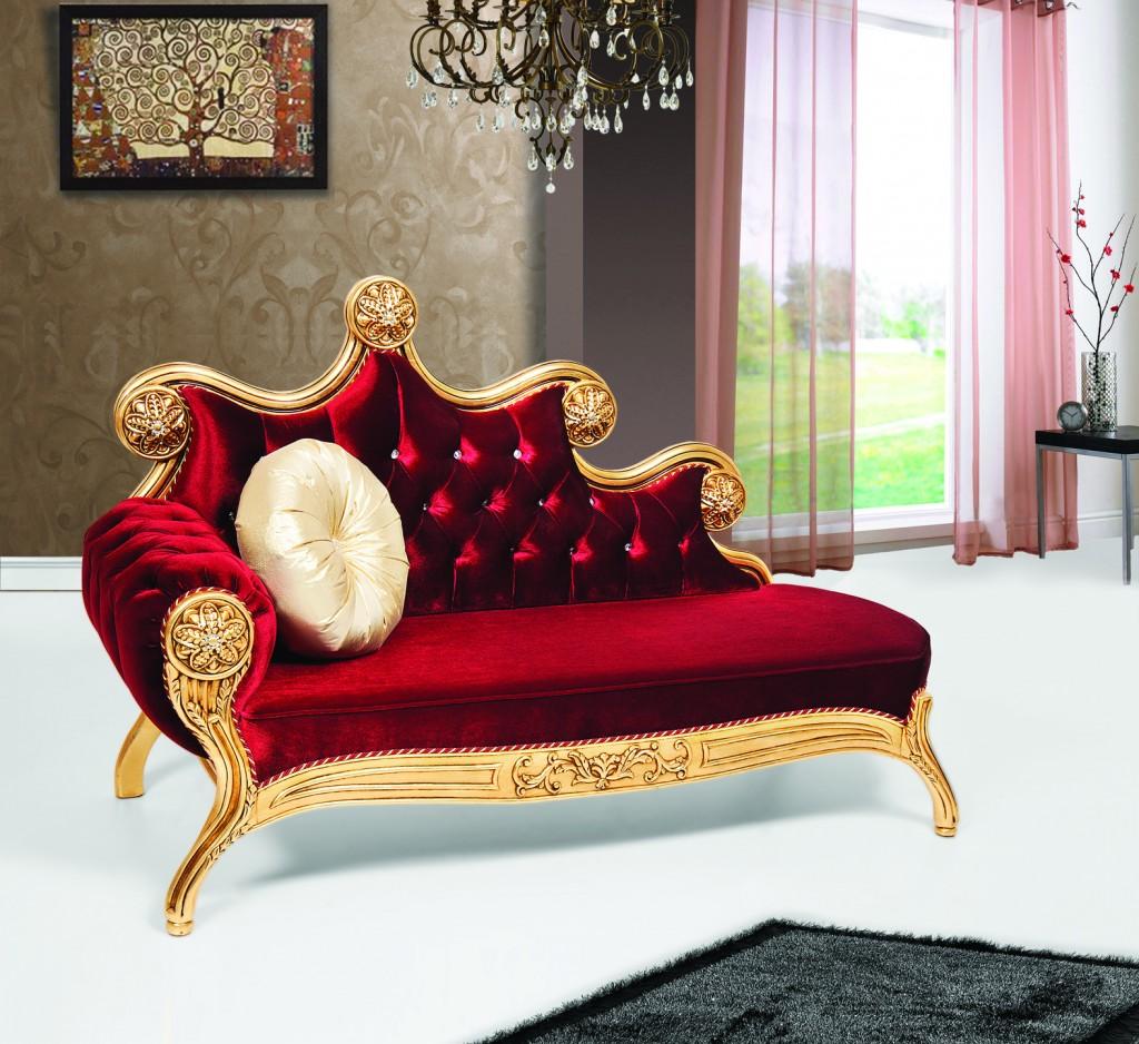 Oturma Odalarında Altının İhtişamı