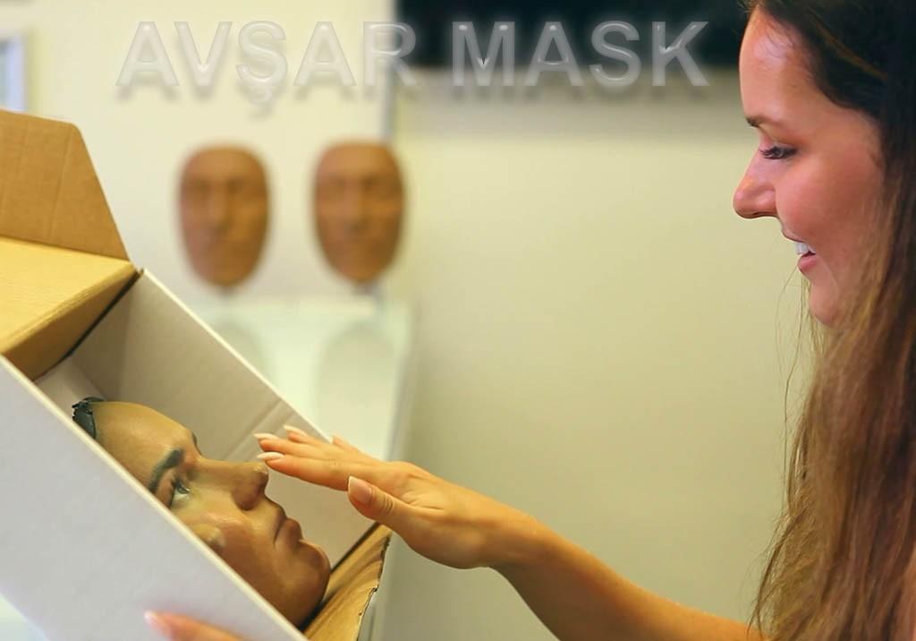 Avşar Mask 3d printing rinoplasti