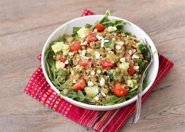 Diyetin Kaynağı Salatalar