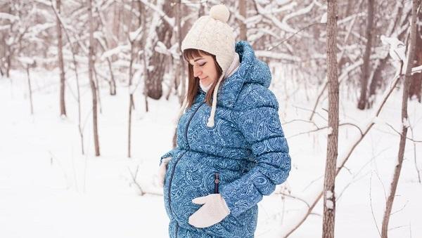 kış ayında hamilelik